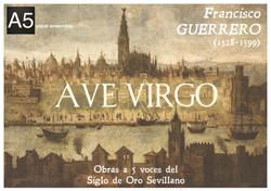 "Cartel ""Ave Virgo"""