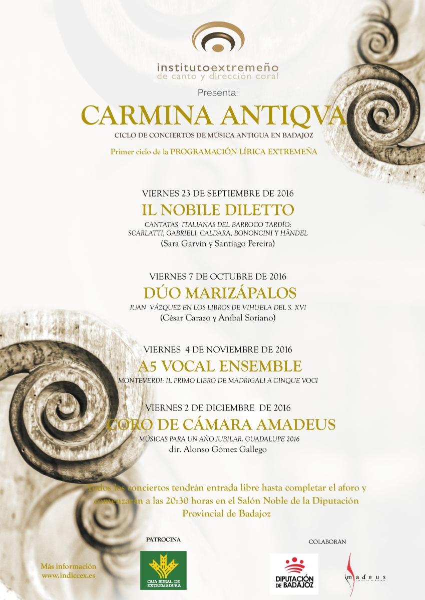 Ciclo Carmina Antiqva