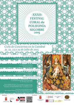 Cartel XXXII Festival Segorbe