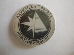 Значок регаты 1987 года