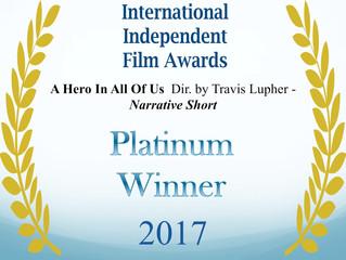 WINNER!!!! International Independent Film Awards