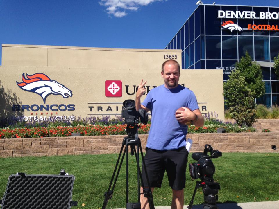Filming at Dove Valley