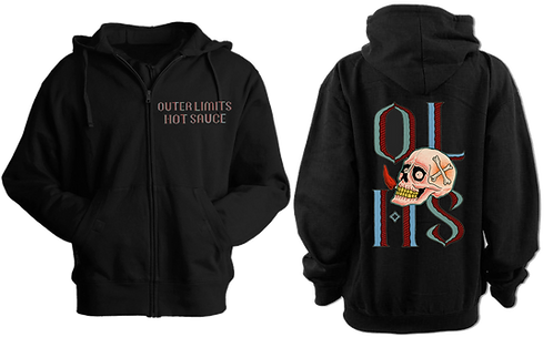 Outer Limits Hot Sauce Zip Up Hoodie