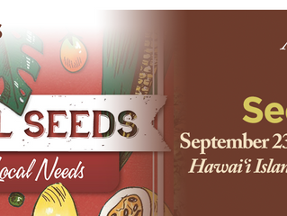 Local Seeds For Local Needs