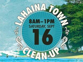 13th Annual Lahaina Town Clean Up