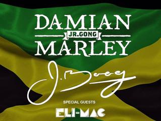 "Jah Rastafariah! Damian ""Jr. Gong"" Marley"