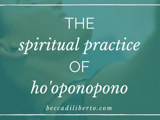 Hawaiian Code of Forgiveness: Ho'oponopono