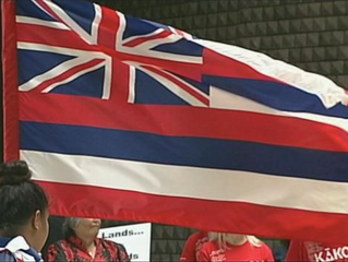 Hawaii High Schools Stage Walkout Protesting Placement of State Flag