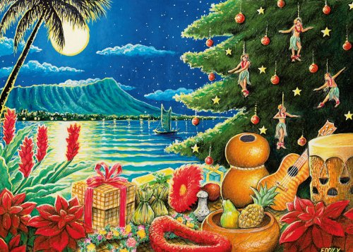 Hawaiian Merry Christmas.Article The First Christmas In Hawaii Mele Kalikimaka