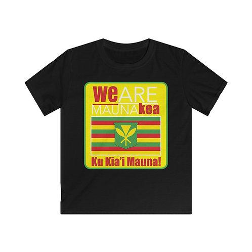 Mauna Kea - Kea Kids Softstyle Tee