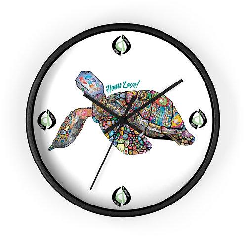 Honu Love - Wall clock