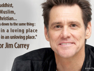 The Story Of Jim Carrey: On How He Began His Spiritual Journey