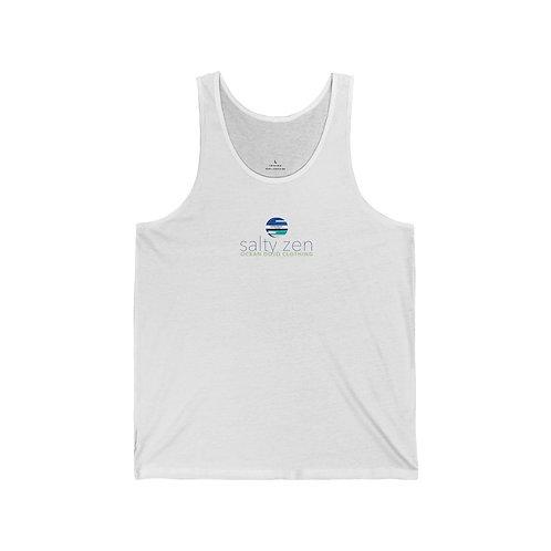 """Ocean Dojo Clothing """"Salty Zen"""" - Unisex Jersey Tank"""