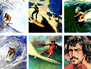Article: Surfers and Beyond Immortalized in Art
