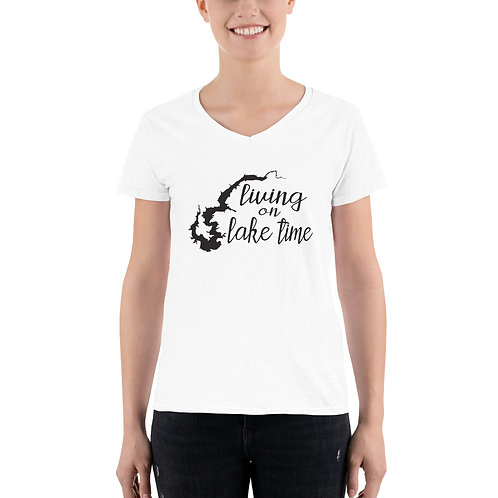 Lake Time Women's Casual V-Neck Shirt