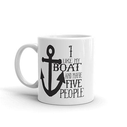 I Like My Boat Mug