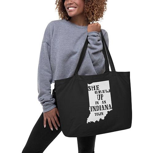 Indiana Girl Large organic tote bag