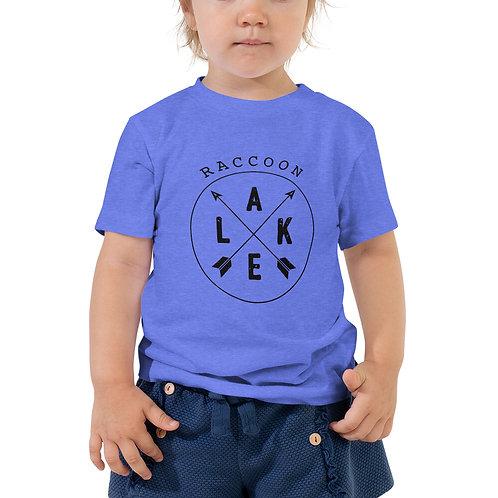Raccoon Lake Compass Toddler Short Sleeve Tee