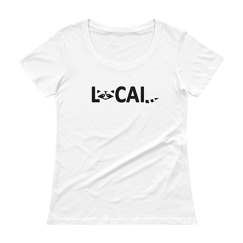 Local Ladies' Scoopneck T-Shirt