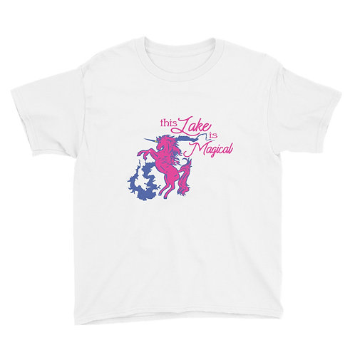 Magical Lake Youth Short Sleeve T-Shirt