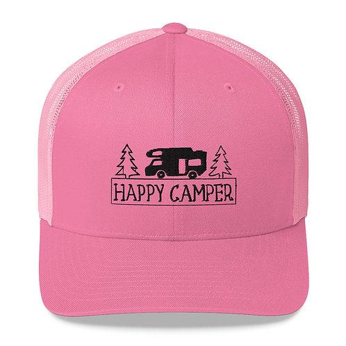 Happy Camper Trucker Cap