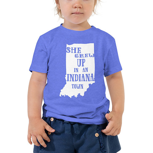 Indiana Girl Toddler Short Sleeve Tee