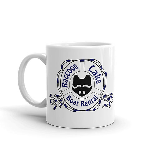 Raccoon Lake Boat Rental Mug