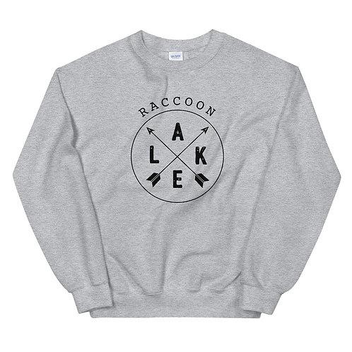 Raccoon Lake Compass Gildan Unisex Sweatshirt