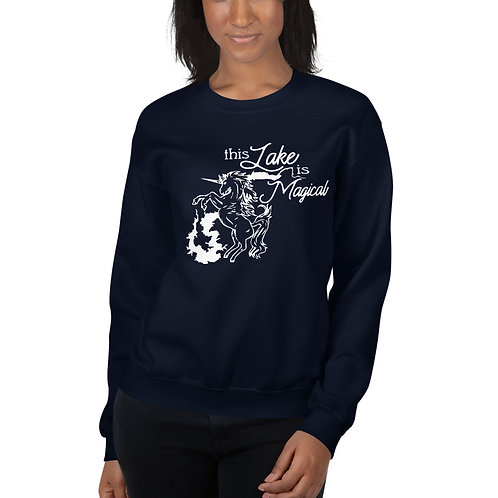 Magical Lake Gildan Unisex Sweatshirt