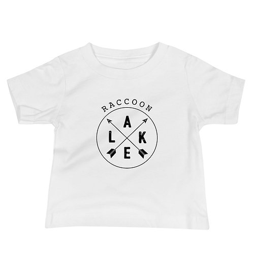 Raccoon Lake Compass Baby Jersey Short Sleeve Tee