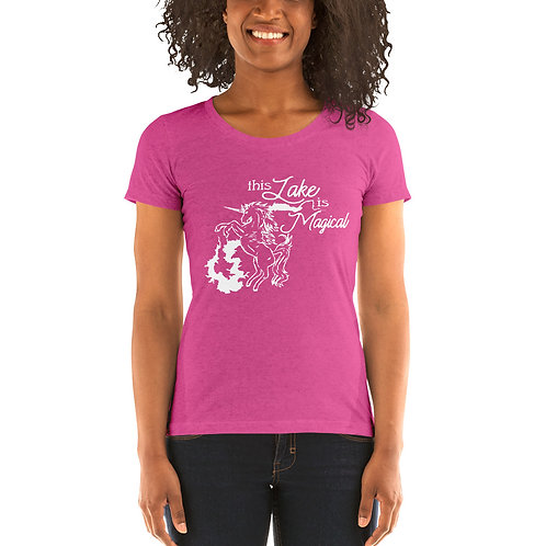 Magical Lake Bella Canvas Tri-Blend Ladies' Short Sleeve T-shirt