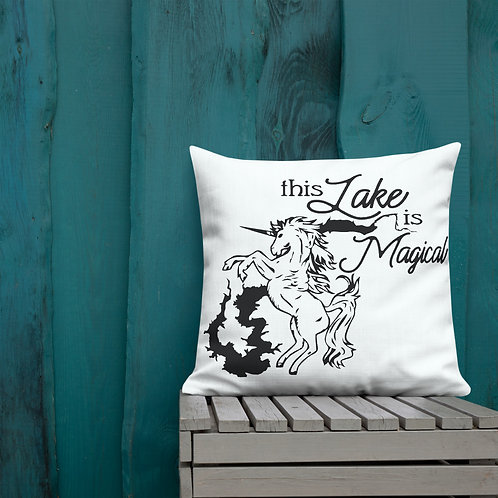 Magical Lake Premium Pillow
