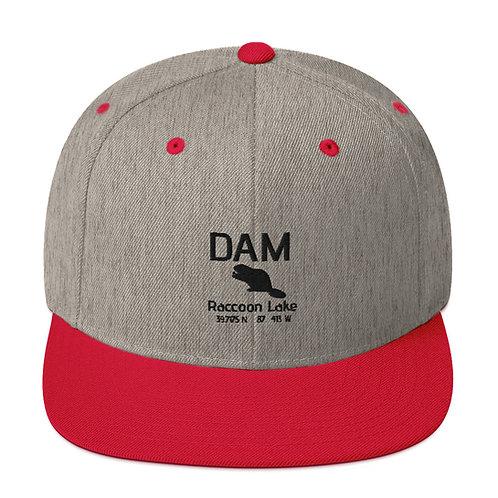 Dam Snapback Hat