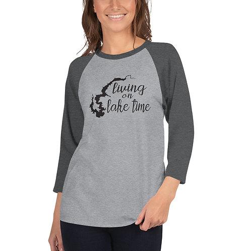 Lake Time 3/4 sleeve raglan shirt