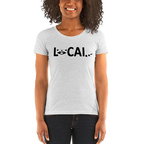 Local Bella Canvas Tri-Blend Ladies' Short Sleeve T-shirt