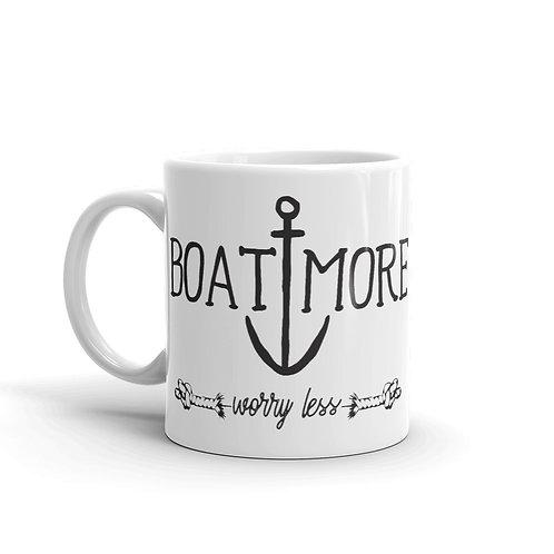 Boat More Mug