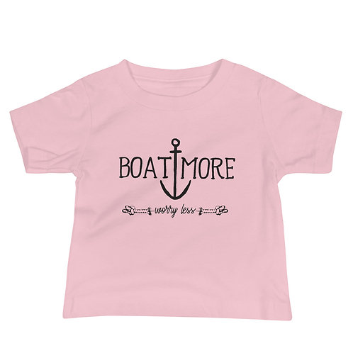 Boat More Baby Jersey Short Sleeve Tee