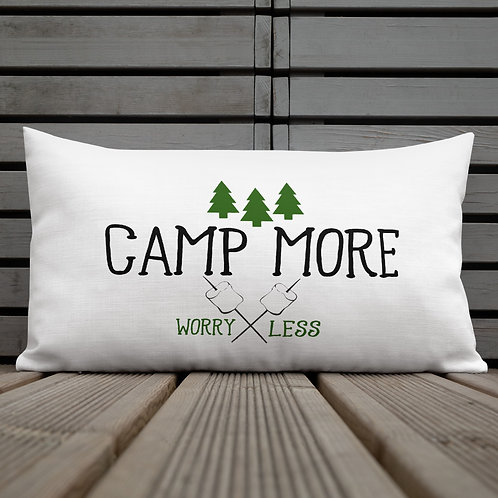 Camp More Premium Pillow
