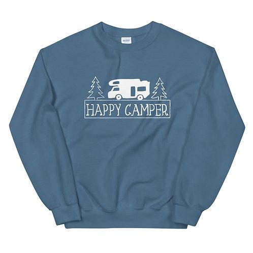 Happy Camper Gildan Unisex Sweatshirt