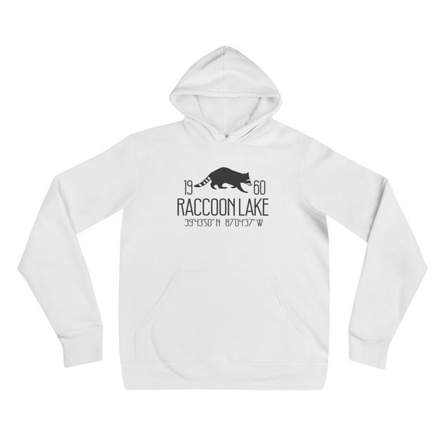 Raccoon Lake Coordinates Sweatshirt