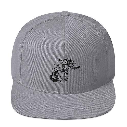 Magical Lake Snapback Hat