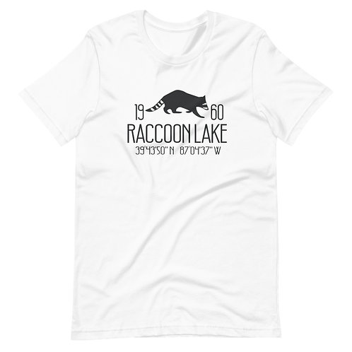 Raccoon Lake Bella Canvas Short-Sleeve Unisex T-Shirt