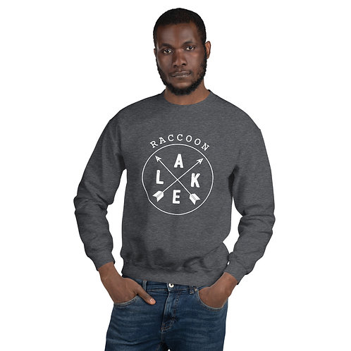 Raccoon Lake Compass Gildan Unisex Sweatshirt