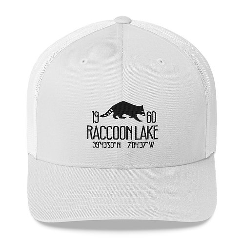 Raccoon Lake Trucker Cap