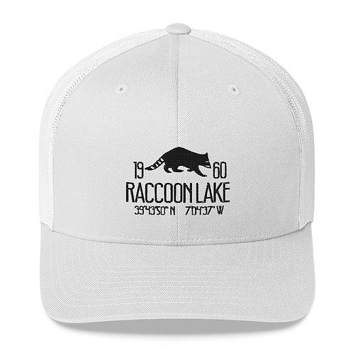 Raccoon Lake Trucker Cap