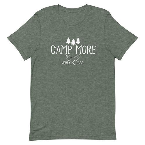 Camp More Bella Canvas 3001 Short-Sleeve Unisex T-Shirt