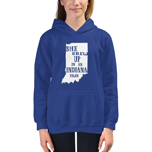 Indiana Girl Kids Hoodie