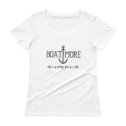 Boat More Ladies' Scoopneck T-Shirt
