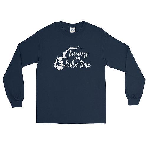 Lake Time Gildan Men's Long Sleeve Shirt