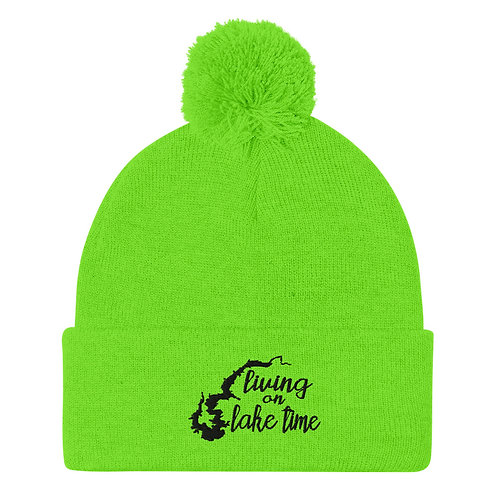 Lake Time Pom-Pom Beanie